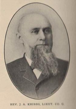 Rev John Amos Kribbs
