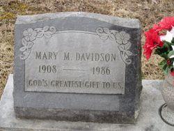 Mary M Davidson