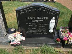"""Jean """"Aunty"""" Baker"""