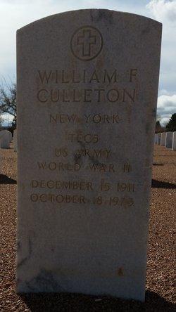 William F Culleton