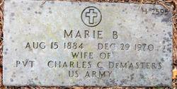 Marie B Demasters