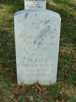Vernon G Gano