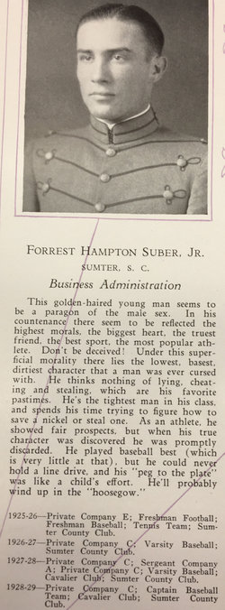 Forest Hampton Suber, Jr