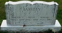 Clayton D. Barkley
