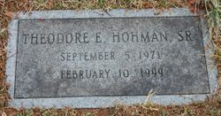Theodore Edward Hohman, Sr