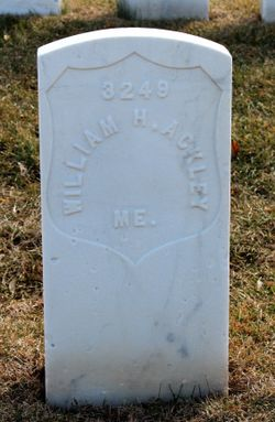 PVT William Henry Ackley