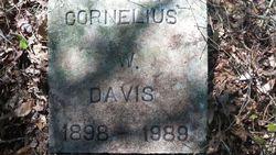 Cornelius W Davis
