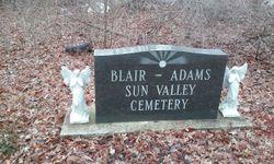 Blair-Adams Sun Valley Cemetery