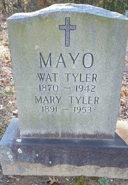 Mary <I>Tyler</I> Mayo