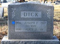 Joseph F Dick