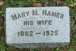 Mary M. <I>Hamer</I> Blodgett