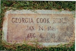Georgia <I>Cook</I> Ridley