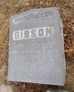 "Elisabeth ""Bessie"" <I>Holl</I> Gibson"