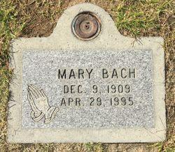 Mary Bell <I>Glover</I> Bach