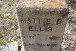 Mattie B Ellis