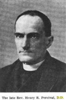Rev Henry Robert Percival