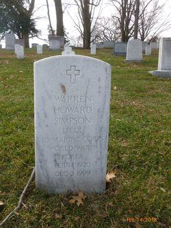 LTC Warren Howard Simpson
