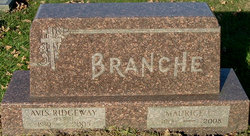 Avis O. <I>Ridgeway</I> Branche