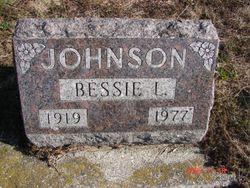 Bessie L <I>Hall</I> Johnson