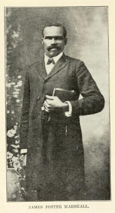 Rev James Foster Marshall