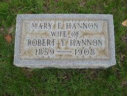 Mary F Hannon