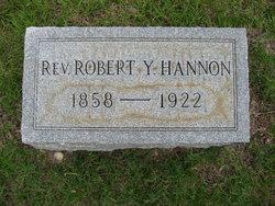 Rev Robert Y Hannon