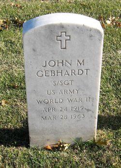 John Martin Gebhardt