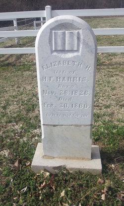 Elizabeth Hairston <I>Woods</I> Harris
