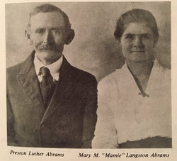 "Mary Marthalia ""Mamie"" <I>Langston</I> Abrams"