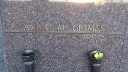 Anna Marie <I>Kinslow</I> Grimes