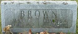 Alice Clarinda <I>Briggs</I> Brown