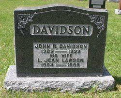 Luella Jean <I>Lawson</I> Davidson