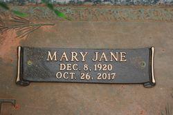 Mary Jane <I>Miller</I> Cole