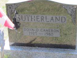 Donald Cameron Sutherland