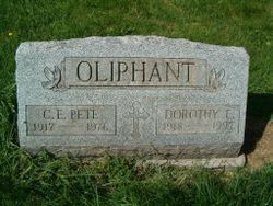 Dorothy Elizabeth <I>Richards</I> Oliphant