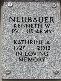 """Katherine """"Kitty"""" <I>Howze</I> Neubauer"""