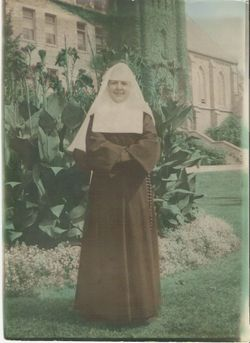 Sr Robertine Eleanor Saunders