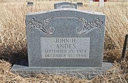 PFC John Howard Andes