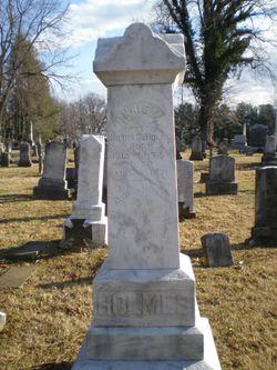 Annie Amelia <I>O'Bannon</I> Holmes