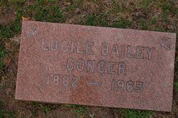 Lucile <I>Bailey</I> Conger