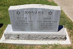 """Antonia """"Nina"""" <I>Teichner</I> Kovacs"""