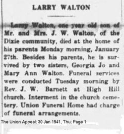 James Larry Walton