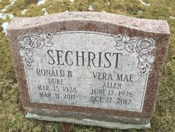 "Vera Mae ""Lady"" <I>Allen</I> Sechrist"