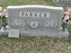 Dorothy Rose <I>Baker</I> Parker
