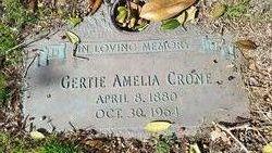 Gertie Amelia <I>Kolhler</I> Crone