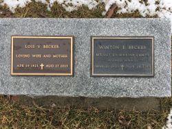 Winton E Becker