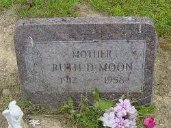 Ruth <I>Dunn</I> Moon