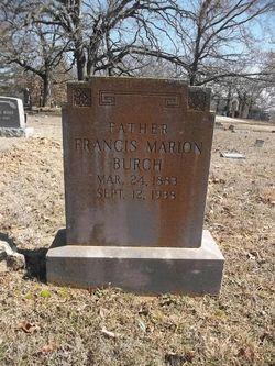 Frances Marion Burch