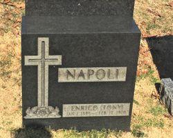 "Enrico A. ""Tony"" Napoli"