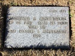 Barbara A Anderson